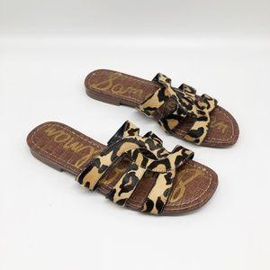 SAM EDELMAN Bryna Leopard Print Sandal